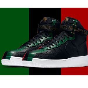 Nike Air Force 1 High Black history Month shoes